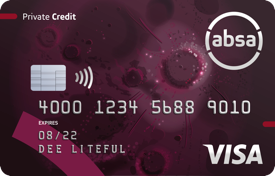 ABSA Private Banking Credit Card