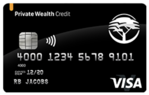 FNB Private Wealth Credit Card